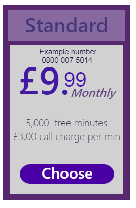 This is the button used to get to the standard freephone offer page