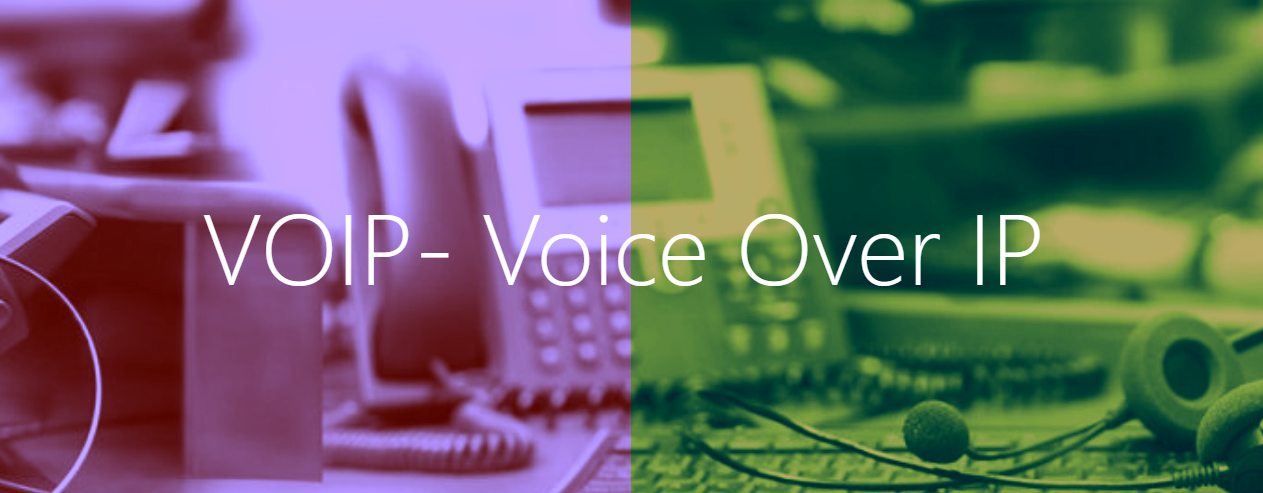This image is the banner of the voip page